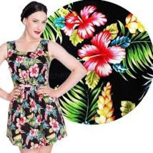 Hell Bunny Hawaiian Dress - Women's Size Small